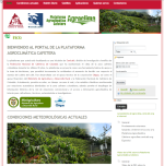 <p>Lanzamiento de agroclima.cenicafe.org a Internet</p>