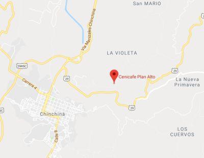 Ubicación: Manizales (Caldas) - Colombia; a 4km de Chinchiná